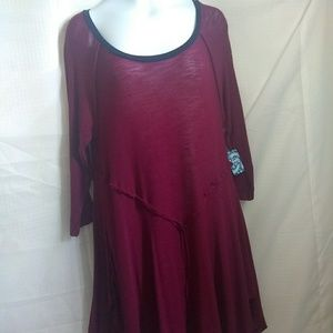Tunic woman free people size L